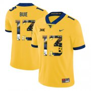 Wholesale Cheap West Virginia Mountaineers 13 Andrew Buie Yellow Fashion College Football Jersey