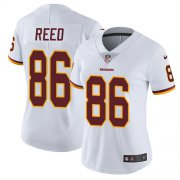 Wholesale Cheap Nike Redskins #86 Jordan Reed White Women's Stitched NFL Vapor Untouchable Limited Jersey