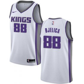 Wholesale Cheap Nike Kings #88 Nemanja Bjelica White NBA Swingman Association Edition Jersey