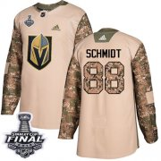 Wholesale Cheap Adidas Golden Knights #88 Nate Schmidt Camo Authentic 2017 Veterans Day 2018 Stanley Cup Final Stitched NHL Jersey