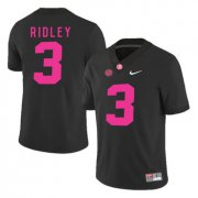 Wholesale Cheap Alabama Crimson Tide 3 Calvin Ridley Black 2017 Breast Cancer Awareness College Football Jersey