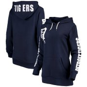 Wholesale Cheap Detroit Tigers G-III 4Her by Carl Banks Women's 12th Inning Pullover Hoodie Navy