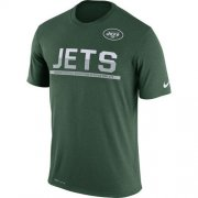 Wholesale Cheap Men's New York Jets Nike Practice Legend Performance T-Shirt Green
