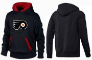 Wholesale Cheap Philadelphia Flyers Pullover Hoodie Black & Red