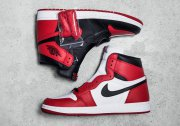 Wholesale Cheap Air Jordan 1 High OG Homage To Home Varsity red/black-White