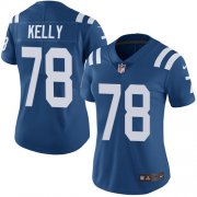 Wholesale Cheap Nike Colts #78 Ryan Kelly Royal Blue Team Color Women's Stitched NFL Vapor Untouchable Limited Jersey