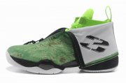 Wholesale Cheap Air Jordan 28 Shoes Light green/White/Black