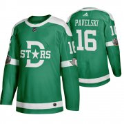 Wholesale Cheap Adidas Dallas Stars #16 Joe Pavelski Men's Green 2020 Winter Classic Retro NHL Jersey
