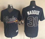 Wholesale Cheap Braves #31 Greg Maddux Blue New Cool Base Stitched MLB Jersey