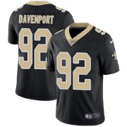 Wholesale Cheap Nike Saints #92 Marcus Davenport Black Team Color Youth Stitched NFL Vapor Untouchable Limited Jersey