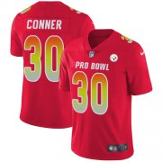 Wholesale Cheap Nike Steelers #30 James Conner Red Youth Stitched NFL Limited AFC 2019 Pro Bowl Jersey