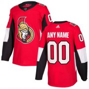 Wholesale Cheap Men's Adidas Senators Personalized Authentic Red Home NHL Jersey