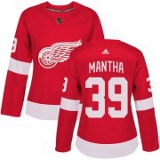 Wholesale Cheap Adidas Red Wings #39 Anthony Mantha Red Home Authentic Women's Stitched NHL Jersey