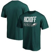 Wholesale Cheap Philadelphia Eagles Fanatics Branded Kickoff 2020 T-Shirt Midnight Green