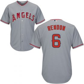 Wholesale Cheap Angels of Anaheim #6 Anthony Rendon Grey New Cool Base Stitched MLB Jersey