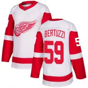 Wholesale Cheap Adidas Red Wings #59 Tyler Bertuzzi White Road Authentic Stitched NHL Jersey