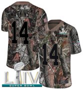 Wholesale Cheap Nike Chiefs #14 Sammy Watkins Camo Super Bowl LIV 2020 Youth Stitched NFL Limited Rush Realtree Jersey