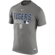 Wholesale Cheap Detroit Tigers Nike 2016 AC Legend Team Issue 1.6 T-Shirt Gray