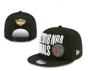 Wholesale Cheap Men's Cleveland Cavaliers 2018 The NBA Finals Patch Snapback Ajustable Cap Hat
