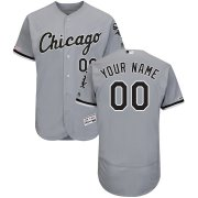 Wholesale Cheap Chicago White Sox Majestic Road Flex Base Authentic Collection Custom Jersey Gray