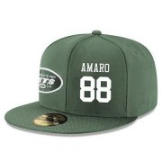 Wholesale Cheap New York Jets #88 Austin Seferian-Jenkins Snapback Cap NFL Player Green with White Number Stitched Hat