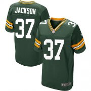Wholesale Cheap Nike Packers #37 Josh Jackson Green Team Color Men's Stitched NFL Elite Jersey