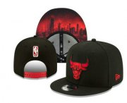 Wholesale Cheap Chicago Bulls Snapback Snapback Ajustable Cap Hat YD 5