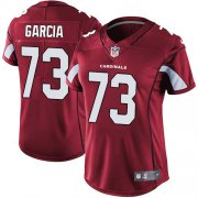 Wholesale Cheap Nike Cardinals #73 Max Garcia Red Team Color Women's Stitched NFL Vapor Untouchable Limited Jersey