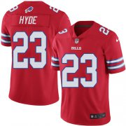 Wholesale Cheap Nike Bills #23 Micah Hyde Red Youth Stitched NFL Limited Rush Jersey