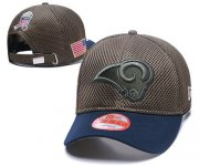 Wholesale Cheap NFL Los Angeles Rams Stitched Snapback Hats 046