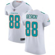Wholesale Cheap Nike Dolphins #88 Mike Gesicki White Men's Stitched NFL Vapor Untouchable Elite Jersey