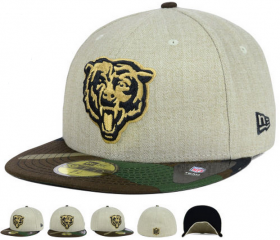 Wholesale Cheap Chicago Bears fitted hats 05
