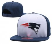 Wholesale Cheap NFL New England Patriots Team Logo Snapback Adjustable Hat 12