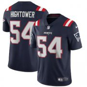 Wholesale Cheap New England Patriots #54 Dont'a Hightower Men's Nike Navy 2020 Vapor Limited Jersey