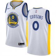 Wholesale Cheap Men's Nike Golden StateWarriors #0 DeMarcus Cousins White NBA Swingman Association Edition Jersey