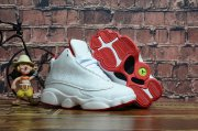 Wholesale Cheap Kids' Air Jordan 13 Alternate Shoes White/Red
