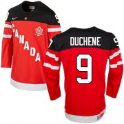 Wholesale Cheap Olympic CA. #9 Matt Duchene Red 100th Anniversary Stitched NHL Jersey