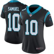 Wholesale Cheap Nike Panthers #10 Curtis Samuel Black Team Color Women's Stitched NFL Vapor Untouchable Limited Jersey
