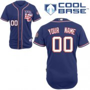 Wholesale Cheap Nationals Authentic Blue Cool Base MLB Jersey (S-3XL)
