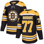 Wholesale Cheap Adidas Bruins #77 Ray Bourque Black Home Authentic Stitched NHL Jersey