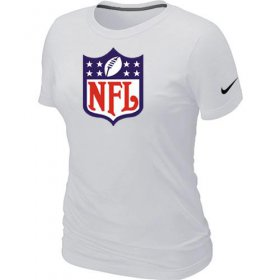 Wholesale Cheap Women\'s Nike NFL Logo NFL T-Shirt White