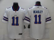Wholesale Cheap Men's Buffalo Bills #11 Cole Beasley White 2017 Vapor Untouchable Stitched NFL Nike Limited Jersey