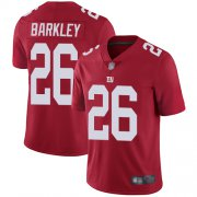 Wholesale Cheap Nike Giants #26 Saquon Barkley Red Men's Stitched NFL Limited Inverted Legend Jersey