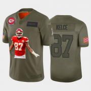 Cheap Kansas City Chiefs #87 Travis Kelce Nike Team Hero 2 Vapor Limited NFL Jersey Camo