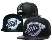 Wholesale Cheap Oklahoma City Thunder Snapback Ajustable Cap Hat 5