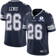 Wholesale Cheap Nike Cowboys #26 Jourdan Lewis Navy Blue Team Color Men's Stitched With Established In 1960 Patch NFL Vapor Untouchable Limited Jersey
