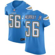Wholesale Cheap Nike Chargers #56 Kenneth Murray Jr Electric Blue Alternate Men's Stitched NFL New Elite Jersey