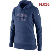Wholesale Cheap Women's Nike Tennessee Titans Heart & Soul Pullover Hoodie Dark Blue