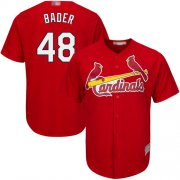 Wholesale Cheap Cardinals #48 Harrison Bader Red Cool Base Stitched Youth MLB Jersey