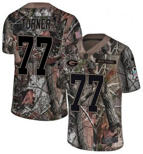 Wholesale Cheap Nike Packers #77 Billy Turner Camo Men\'s Stitched NFL Limited Rush Realtree Jersey